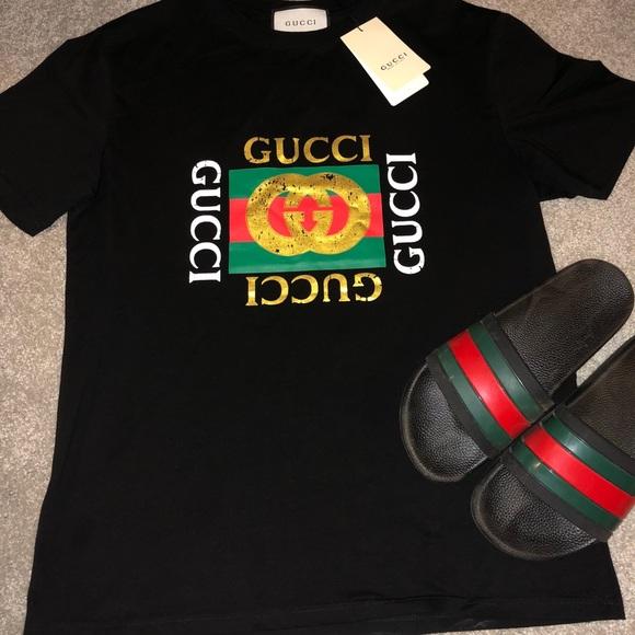 841b12f03 🔥HOT SALE 🔥 Men s Gucci Shirt Size L